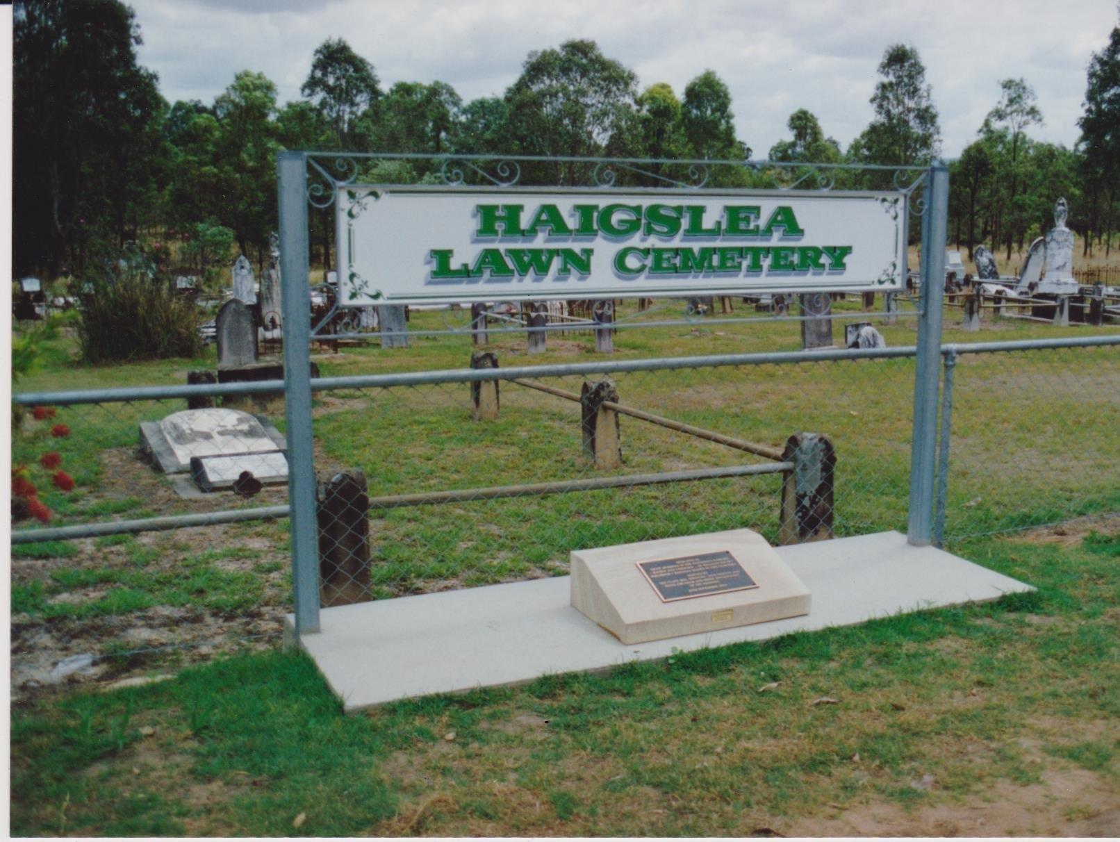 Haigslea Cemetery 1992 001