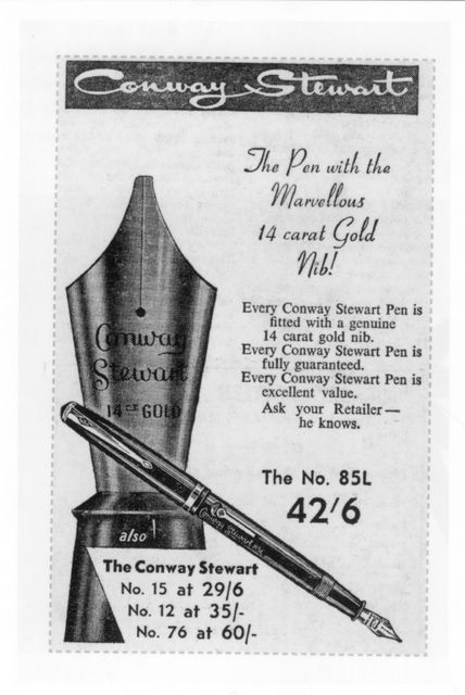 Conway Stewart Fountain Pen 1950's
