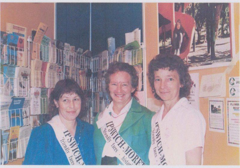 1988 Expo 88 Maria Bogie, Lavina Hill, Irma Deas