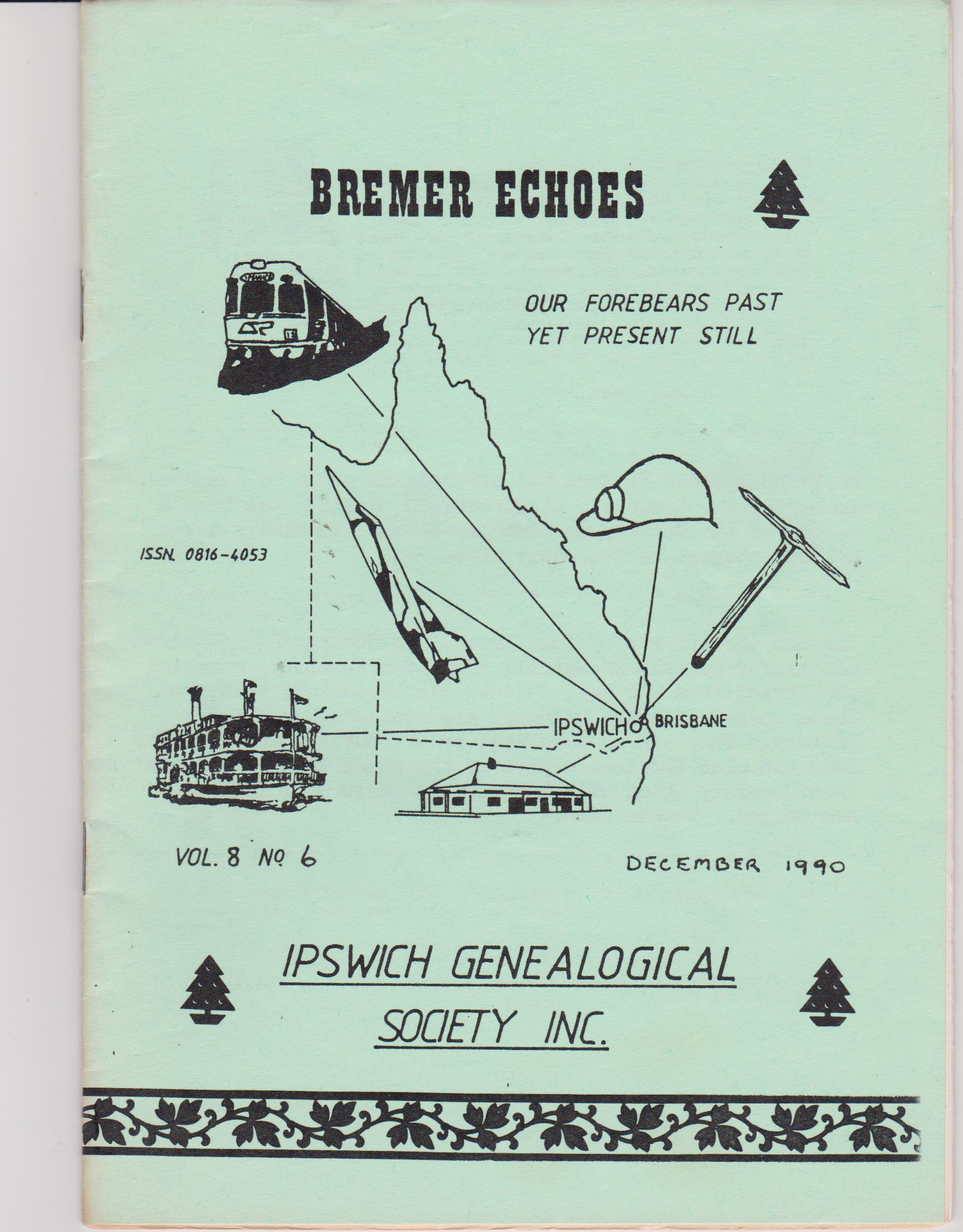 Bremer Echoes Vol 8 No 6 December 1990
