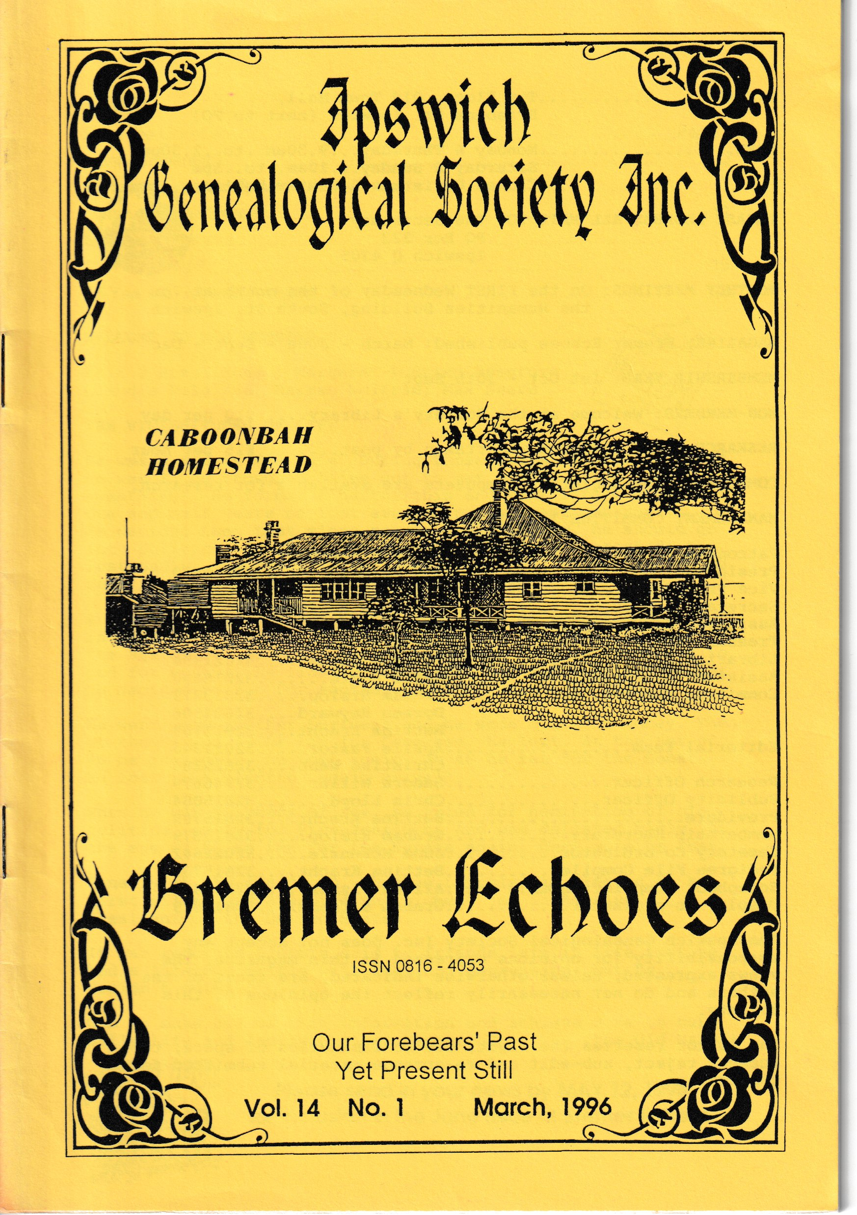 Bremer Echoes March 1996